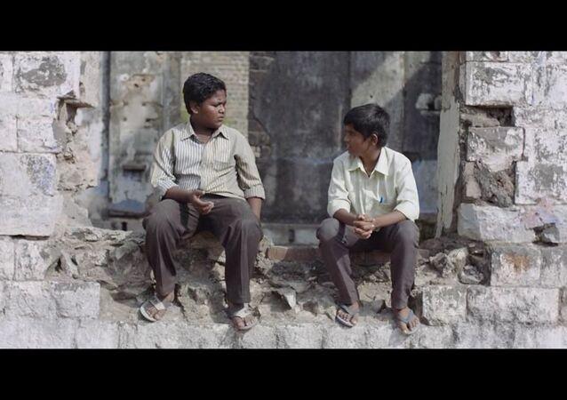 A scene from 'Kastoori' by Vinod Kamble