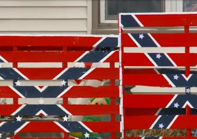 US Home With Nazi Display Near Elementary School Gets Vandalized