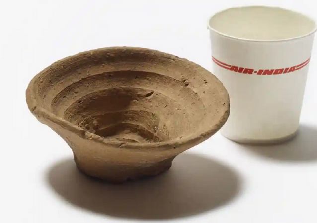 World's First Disposable Cup Will Appear at London's British Museum