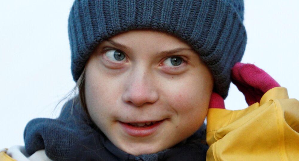 Climate change activist Greta Thunberg