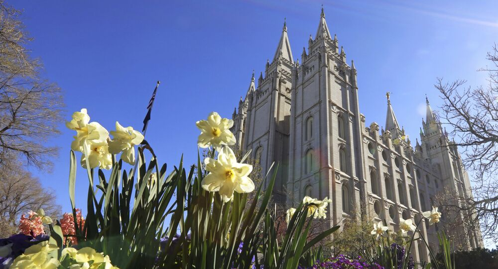 The Salt Lake Temple is shown Friday, April 19, 2019, in Salt Lake City. The iconic temple central to The Church of Jesus Christ of Latter-day Saints faith will close for four years to complete a major renovation, and officials are keeping a careful eye on construction plans after a devastating fire at Notre Dame cathedral in Paris. Church President Russell M. Nelson said Friday the closure will begin in December