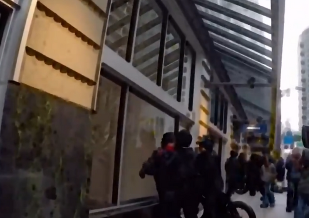 Seattle Police Caught Hitting Protesters With Bicycles, Investigation Launched
