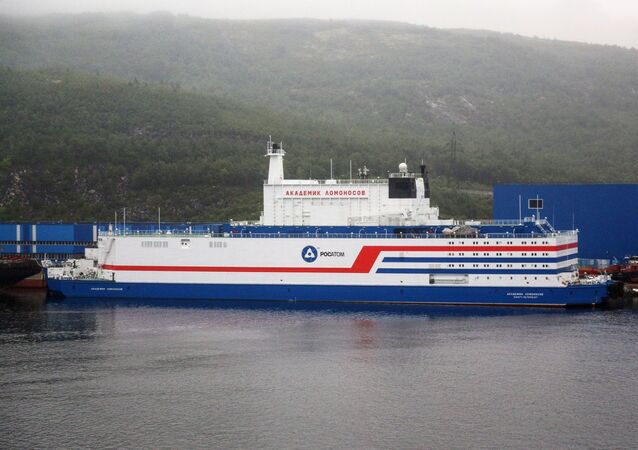 Russia's Floating Nuclear Power Station Akademik Lomonosov