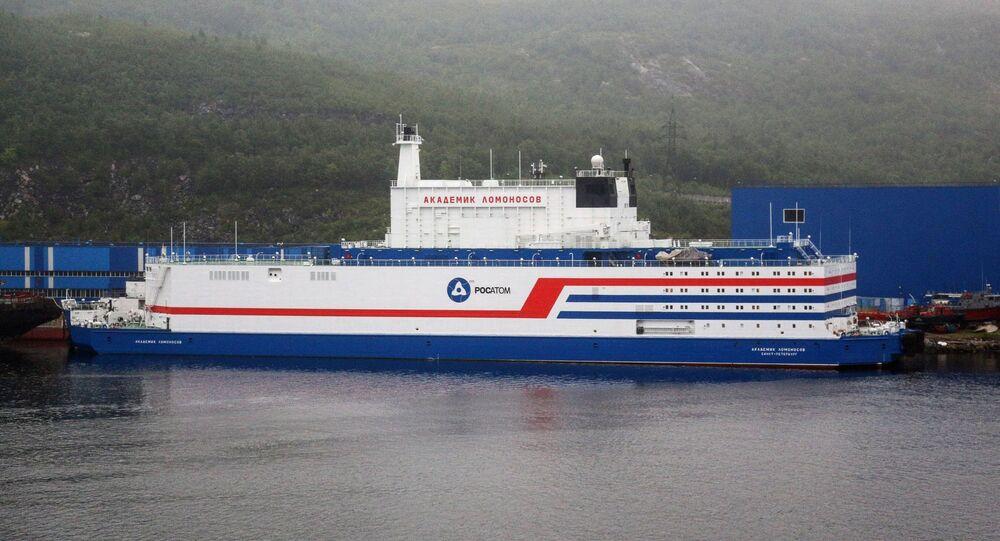 Russia's Floating Nuclear Power Station Akademik Lomonosov