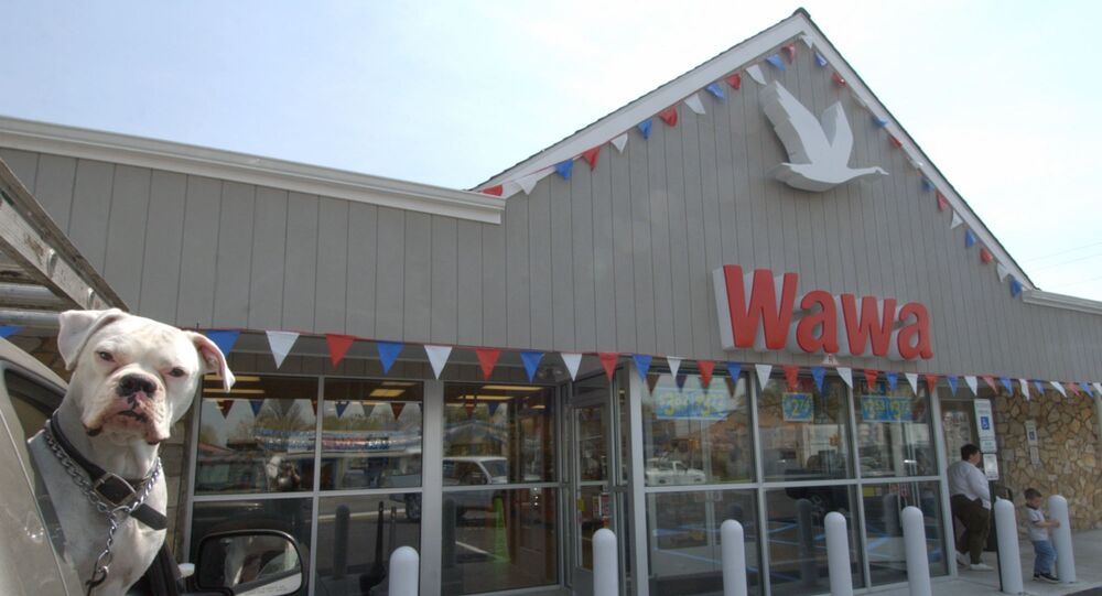 The first Wawa convenience store, opened in April 1964