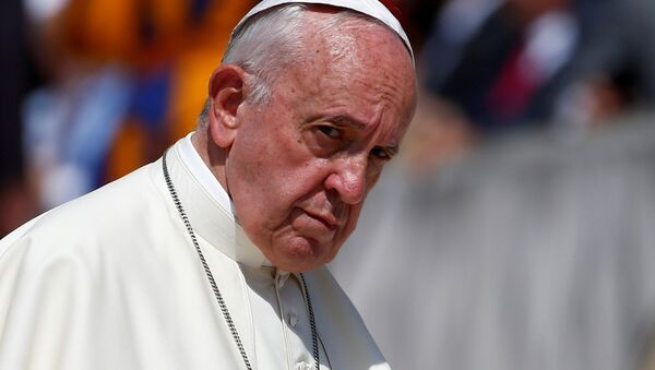 Pope Francis attends the weekly general audience at the Vatican, June 19, 2019 - Sputnik International