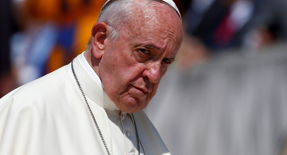 Pope Francis attends the weekly general audience at the Vatican, June 19, 2019