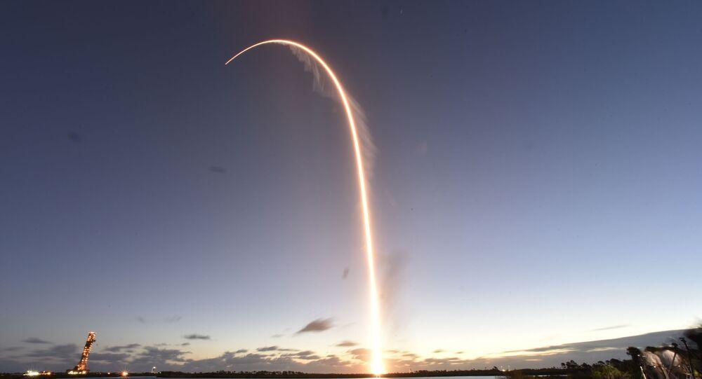 The Boeing CST-100 Starliner spacecraft, atop an ULA Atlas V rocket