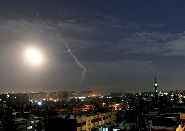 Syrian state media reports incoming missiles from Israel, 22.12.2019