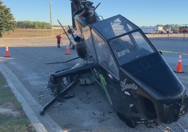 Sober or slammer! The driver who wrecked into this helicopter was arrested for DUI! This holiday season, drink responsibly!!!!!!!!