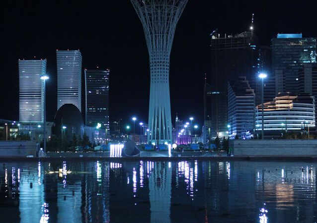 Nur-Sultan, formerly named Astana