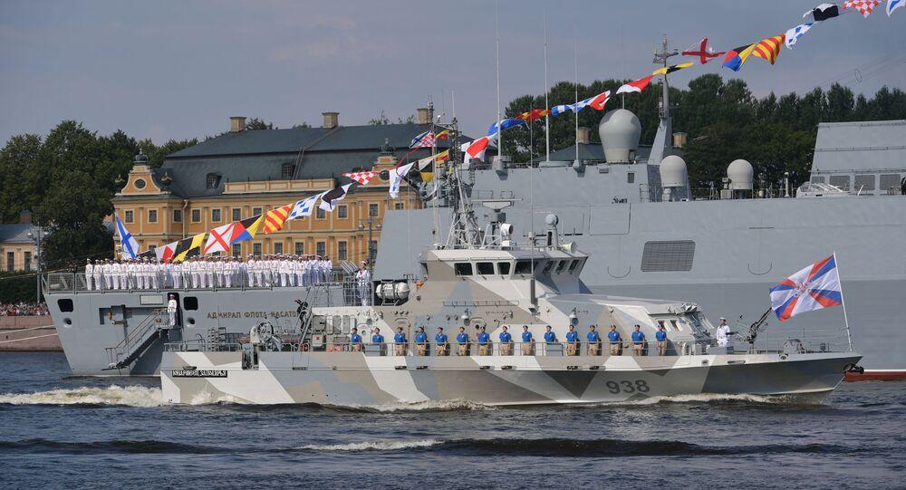 Russian Frigate Admiral Kasatonov