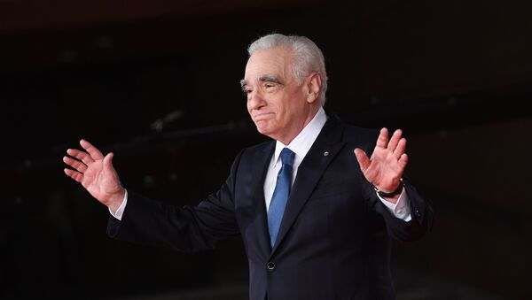 Director Martin Scorsese poses on the red carpet for the movie The Irishman at the 14th Rome Film Festival, in Rome, Italy. - Sputnik International