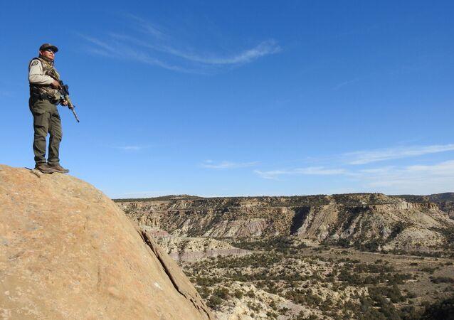 Apache Reservation. Perimeter Patrol