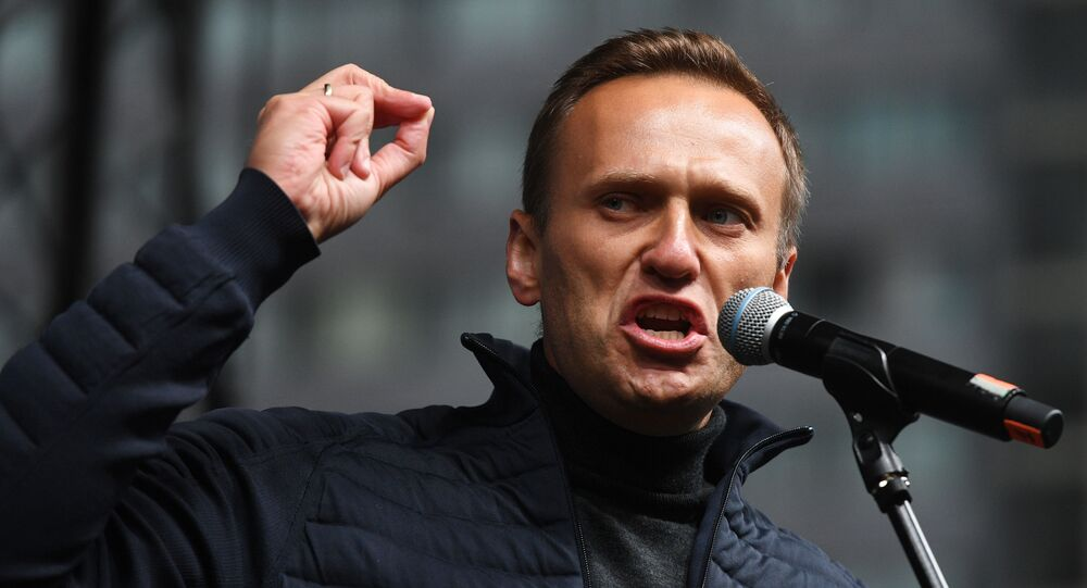 Russian opposition politican Alexei Navalny  (File)