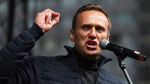 Russian opposition politican Alexei Navalny  (File) - Sputnik International