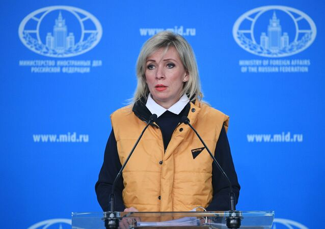 Briefing by the official representative of the Ministry of Foreign Affairs of Russia M. Zararova
