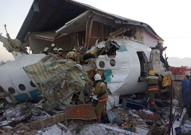 Fokker 100 plane crash