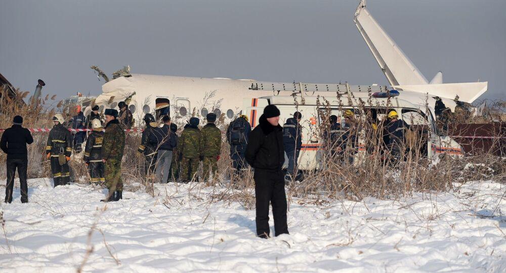 Kazakhstan Plane Accident