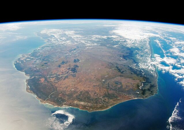 South Side of Madagascar from ISS