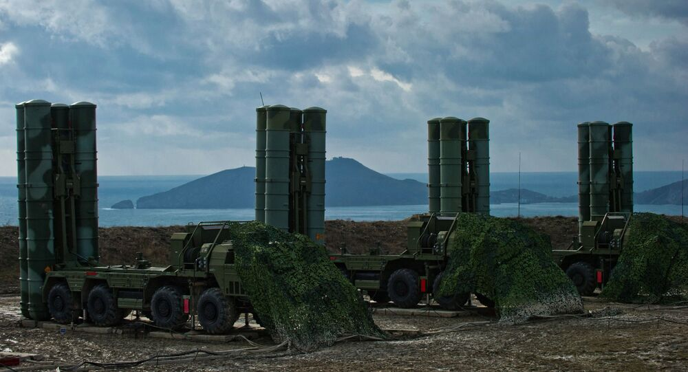 The S-400 Triumph air defense regiment