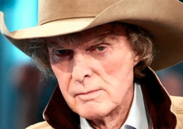 Radio host Don Imus