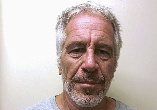 FILE PHOTO: U.S. financier Jeffrey Epstein appears in a photograph taken for the New York State Division of Criminal Justice Services' sex offender registry March 28, 2017 and obtained by Reuters July 10, 2019.  New York State Division of Criminal Justice Services/Handout via REUTERS. THIS IMAGE HAS BEEN SUPPLIED BY A THIRD PARTY. THIS IMAGE WAS PROCESSED BY REUTERS TO ENHANCE QUALITY, AN UNPROCESSED VERSION HAS BEEN PROVIDED SEPARATELY./File Photo