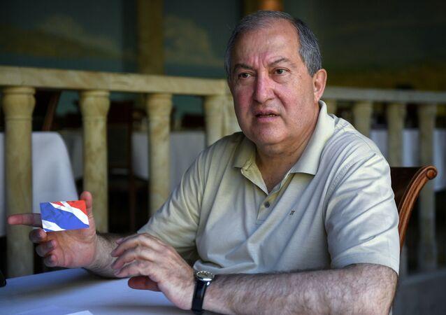 Armenian President Armen Sarkissian