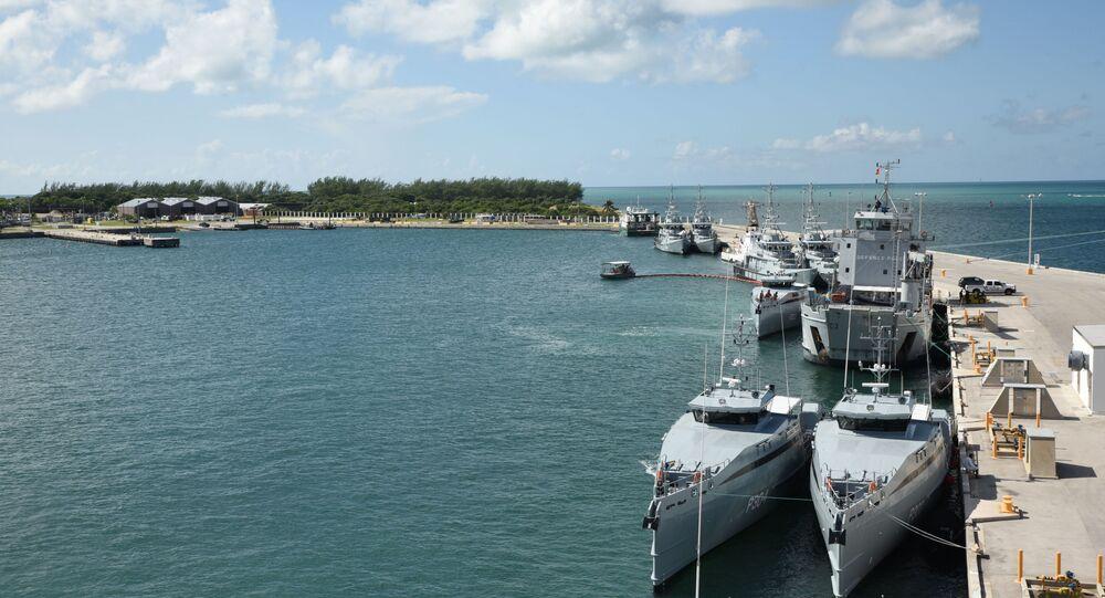 Naval Air Station Key West's Mole Pier