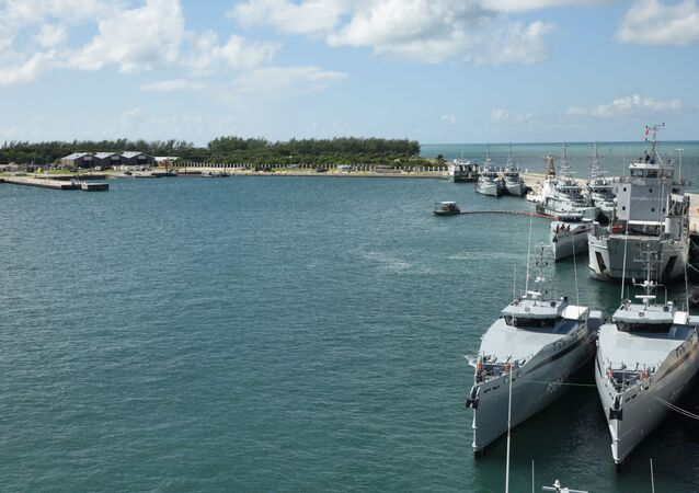 Naval Air Station Key West's Mole Pier