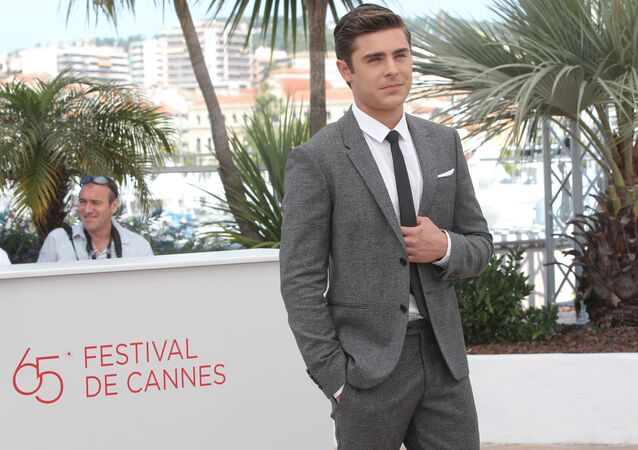 Actor Zac Efron during a photocall before the premiere of The Paperboy at the 65th Cannes Film Festival.