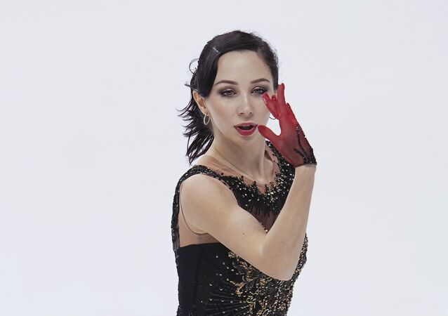 Russia's Elizaveta Tuktamysheva skates her free programme in the ladies' competition at the Russian Figure Skating Championships in Krasnoyarsk, Russia.