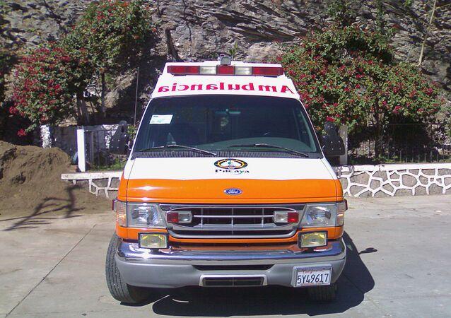 Mexican ambulance