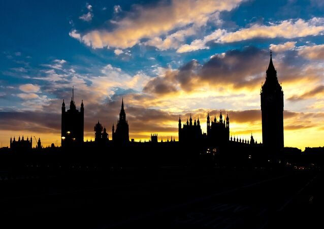 Silhouette of the Big Ben and the Parliament House