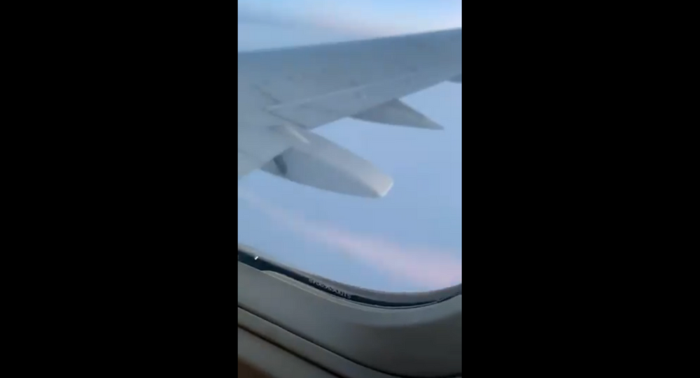 A SwiftAir 737 flight carrying the Kansas Jayhawks basketball team was forced to make an emergency landing over the weekend after one of its engines began shooting out flames.