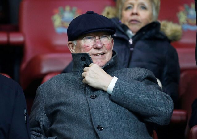 Soccer Football - Premier League - Burnley v Manchester United - Turf Moor, Burnley, Britain - December 28, 2019  Sir Alex Ferguson in the stands before the match