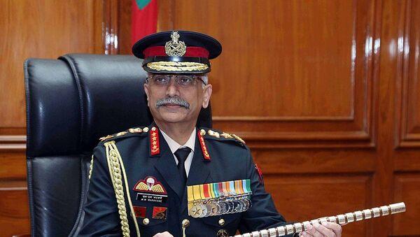 General Manoj Mukund Naravane - Sputnik International