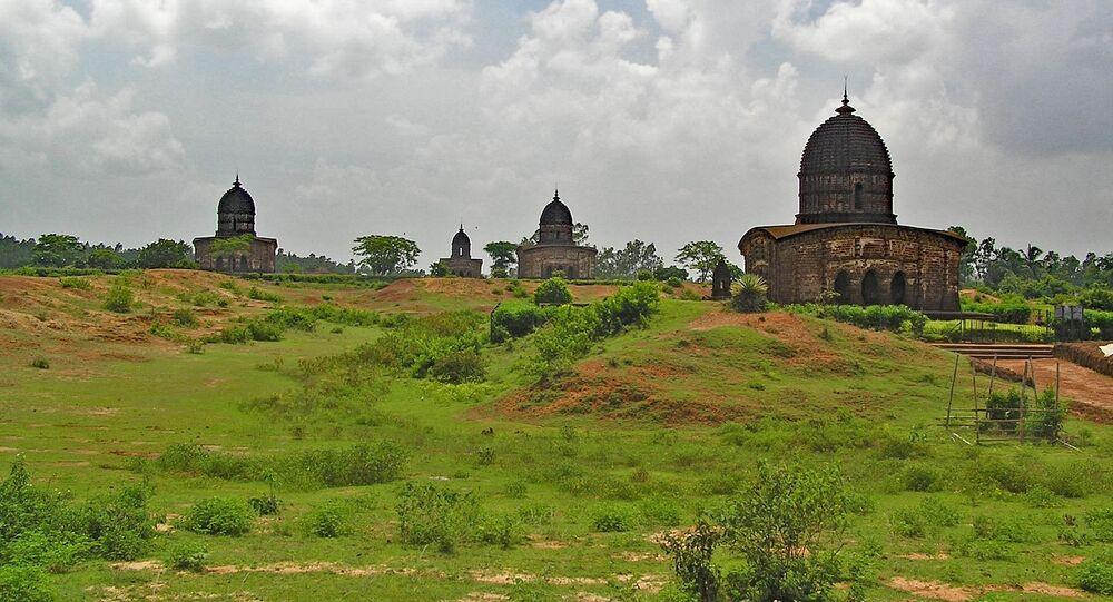 Bishnupur, West Bengal, India.