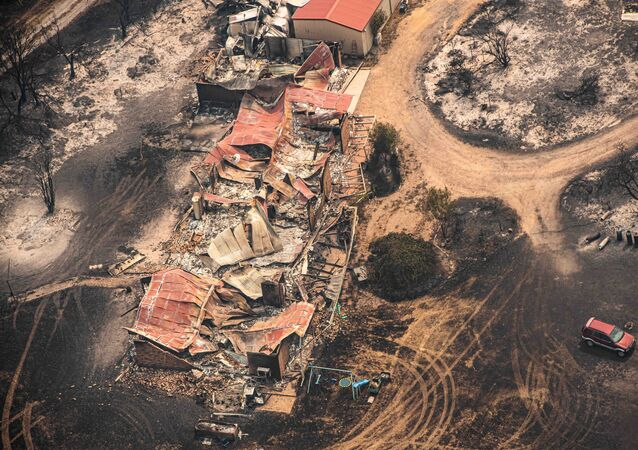 Property Damaged by the East Gippsland Fires in Sarsfield, Victoria, Australia