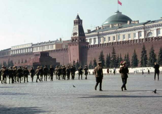 Red Square, Soviet times.
