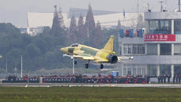 Maiden flight of the JF-17 Thunder Block 3 prototype fighter in Chengdu, China - Sputnik International