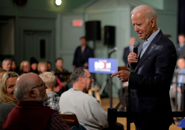 Democratic 2020 U.S. presidential candidate and former U.S. Vice President Joe Biden