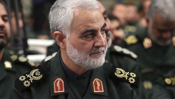 Quds Force, Gen. Qassim Soleimani - Sputnik International