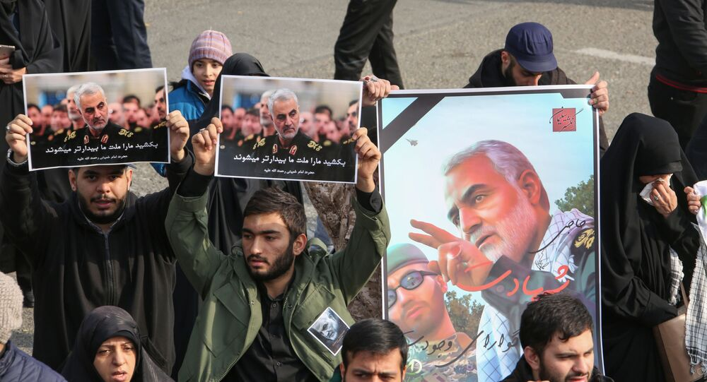 Pictures of Slain Iranian Revolutionary Guards Major General Qasem Soleimani