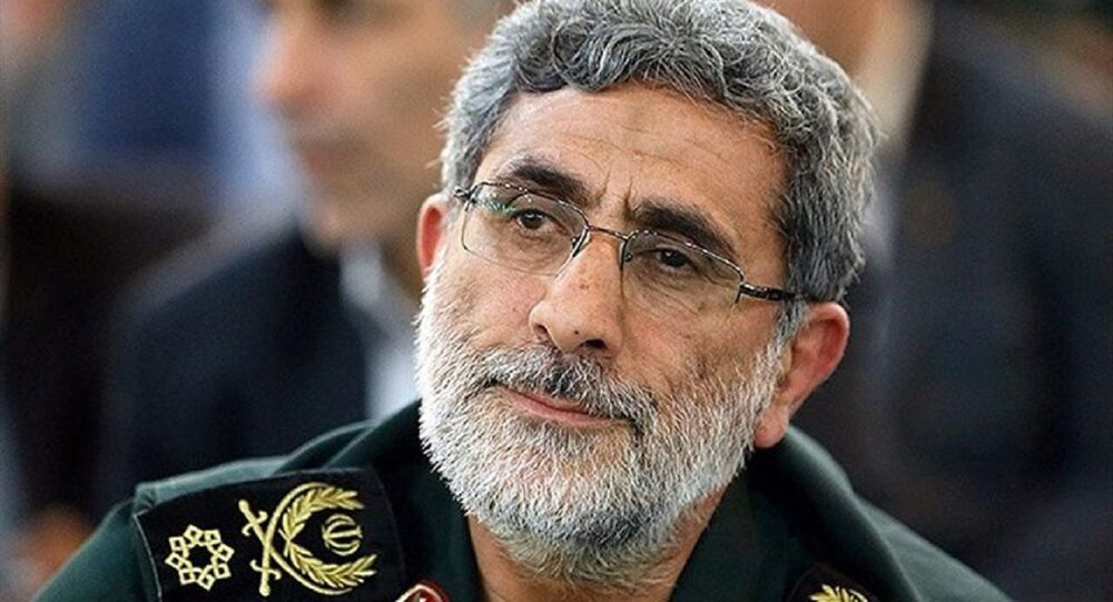 Brigadier General Esmail Ghaani, the newly-appointed commander of the country's Quds Force