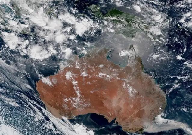 The Himawari-8 satellite photo of the Australian bushfires