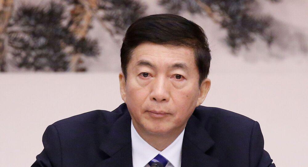 Communist Party Secretary of Shanxi province Luo Huining