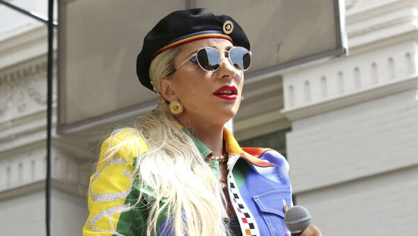 Lady Gaga participates in the second annual Stonewall Day honoring the 50th anniversary of the Stonewall riots, hosted by Pride Live and iHeartMedia, in Greenwich Village on Friday, June 28, 2019, in New York. - Sputnik International
