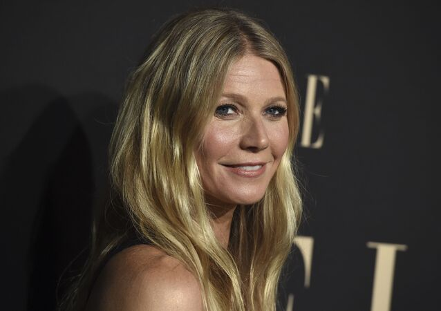 Gwyneth Paltrow arrives at the 26th annual ELLE Women in Hollywood Celebration at the Four Seasons Hotel on Monday, Oct. 14, 2019, in Los Angeles.