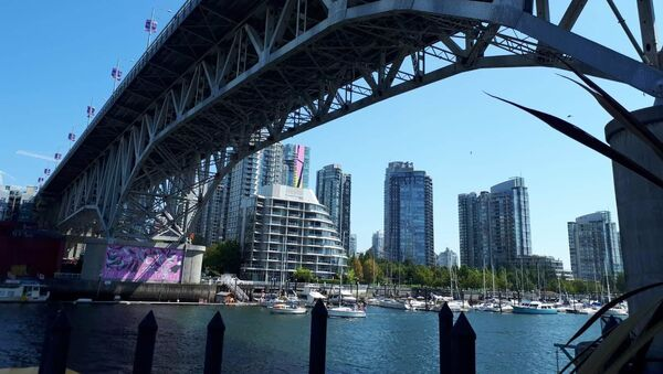 The Granville Street Bridge in Vancouver - Sputnik International